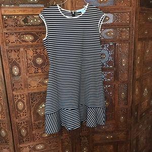 Navy Stripe Dress